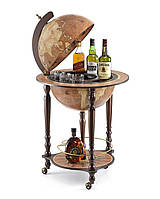 Глобус-бар підлоговий Zoffoli (Італія) Da Vinci Rust (55 х 55 х 93 см) 248-0001