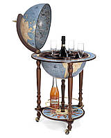 Глобус-бар підлоговий Zoffoli (Італія) Da Vinci Blue Dust (55 х 55 х 93 см) 248-0002