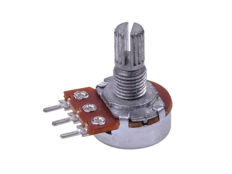 Резистор змінний 500 кОм (потенціометр) серії 16К1 PRK0066