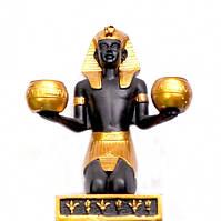 9260264 Подсвечник Фараон Полистоун
