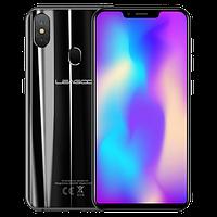 Смартфон с большим дисплеем и отпечатком пальца сзади на 2 сим карты Leagoo S9 black 4/32GB, фото 1