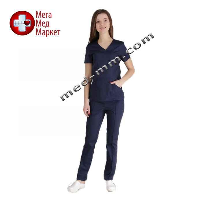 Медицинский костюм Сидней синий №1024