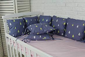 Комплект бортиков в кроватку(8шт), фото 3