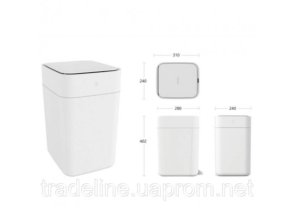 Умная корзина для мусора Xiaomi TOWNEW T1 White  (XMCXB01QM1)