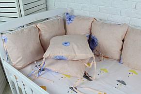 Комплект бортиков в кроватку(12 шт), фото 3