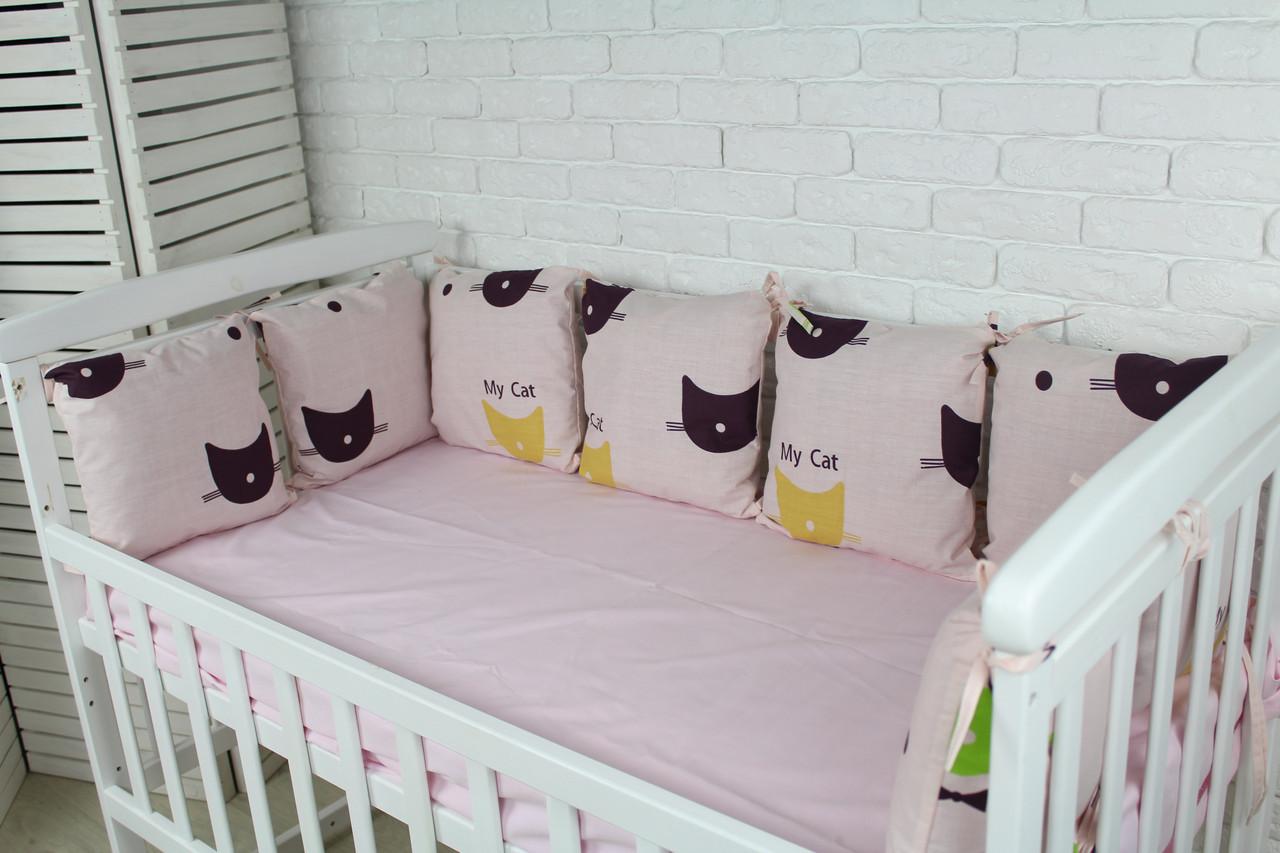 Комплект бортиков в кроватку(12 шт)