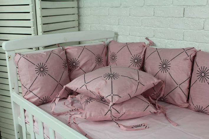 Комплект бортиков в кроватку(12 шт), фото 2