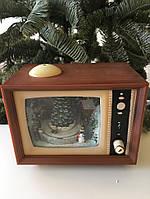 """Новогодний декор """"Телевизор"""" LED 24x14x23 см"""