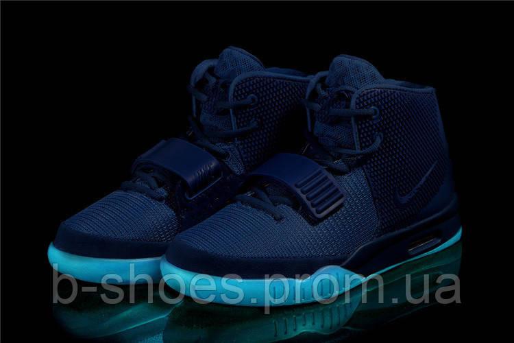 f3d5e9d3 Мужские кроссовки Nike Air Yeezy 2 (Blue), цена 1 625 грн., купить в ...