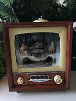 "Новогодний музыкальный декор ""Телевизор средний"" LED 19 х 15 х 41,5 см"