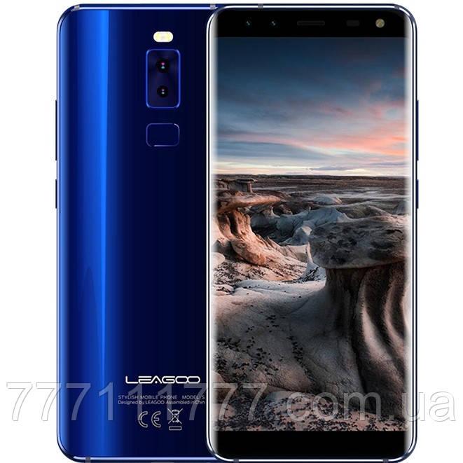 """Смартфон Leagoo S8 blue синий (2SIM) 5,7"""" 3/32GB 8/13+13Мп 3G 4G оригинал Гарантия!"""