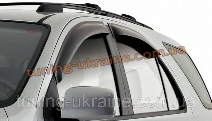 Дефлекторы окон (ветровики) EGR на AUDI Q3 2011-14