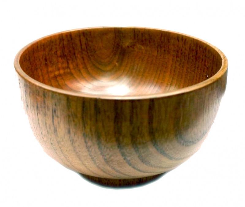 9200065 Миска деревянная бук(13,5х13,5х8 см)