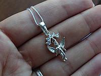 """Срібний підвіс """"Ангел"""", фото 1"""