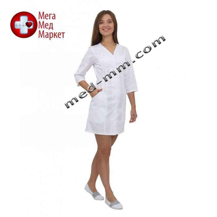 Медицинский халат женский Ибица белый №64