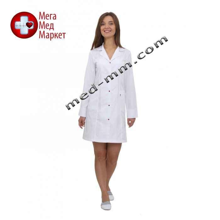 Медицинский халат женский Англия белый №55