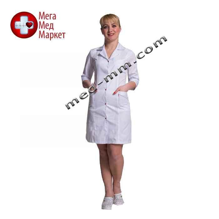 Медицинский халат женский Англия белый №56