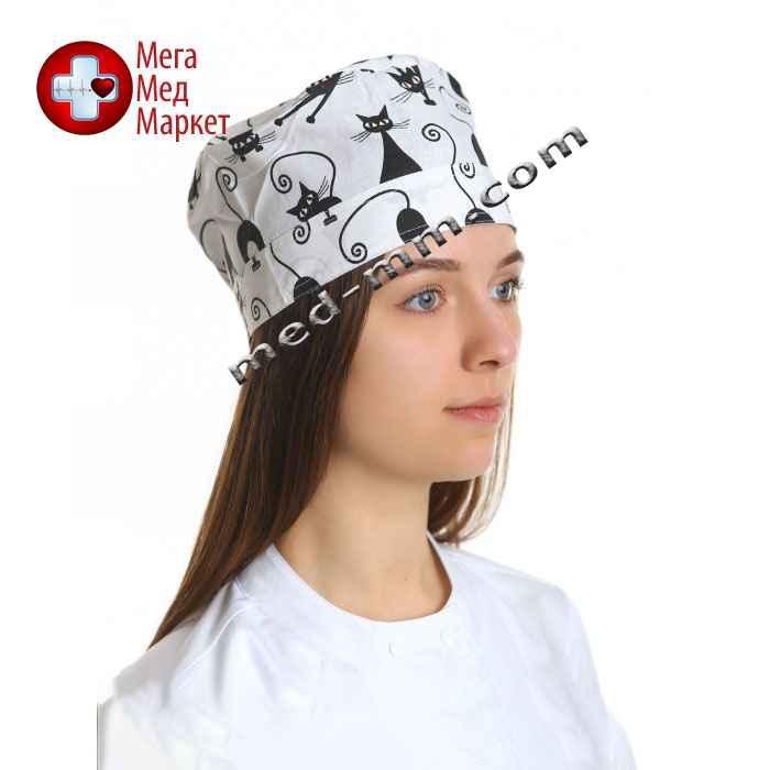 Медицинская шапочка принт №11