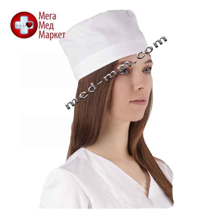Медицинская шапочка белая №4