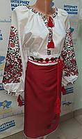 """Український національний костюм з вишивкою """"Кармен"""", фото 1"""