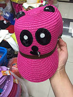 Женская кепка вязаная 3 цвета