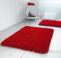 Коврик для ванной Spirella Highland красный  размер 60х90