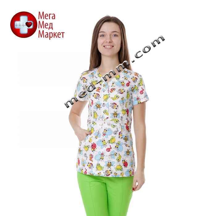 Медицинская куртка женская Бали Букашка №1120