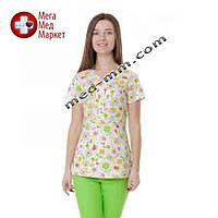 Медицинская куртка женская Бали Пчелка №1116