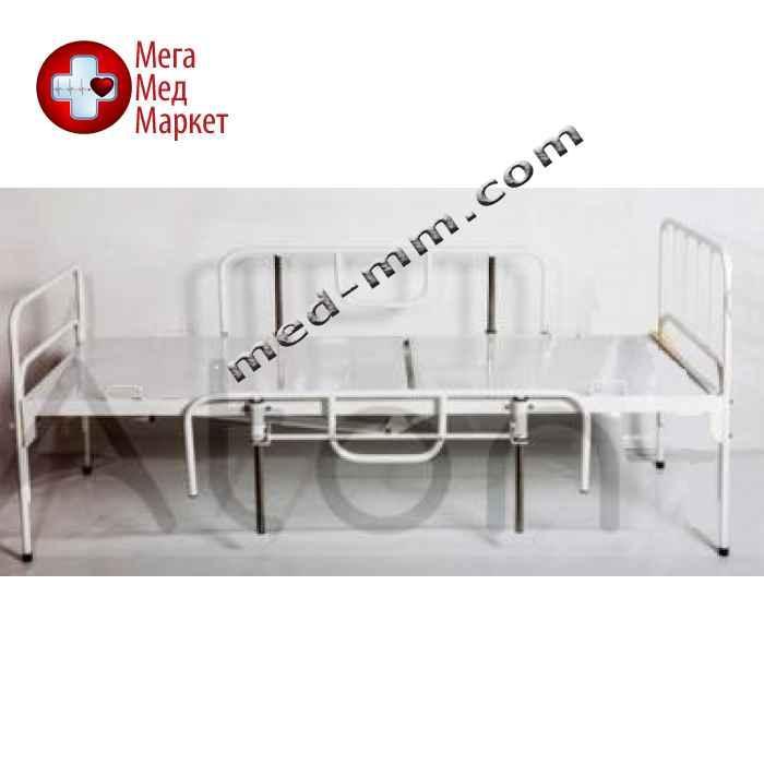 Кровать функциональная двухсекционная с мехприводом КФ-2СМп-БТ