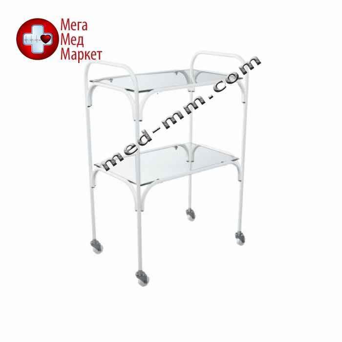 Столик инструментальный СІН-4 (металл/стекло)