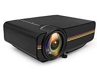 Мини проектор YG400 портативный  Черный