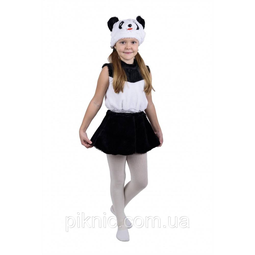 Костюм Панда для девочки 3,4,5,6 лет Детский новогодний карнавальный костюм