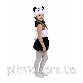 Костюм Панда для девочки 3,4,5,6 лет Детский новогодний карнавальный костюм, фото 2