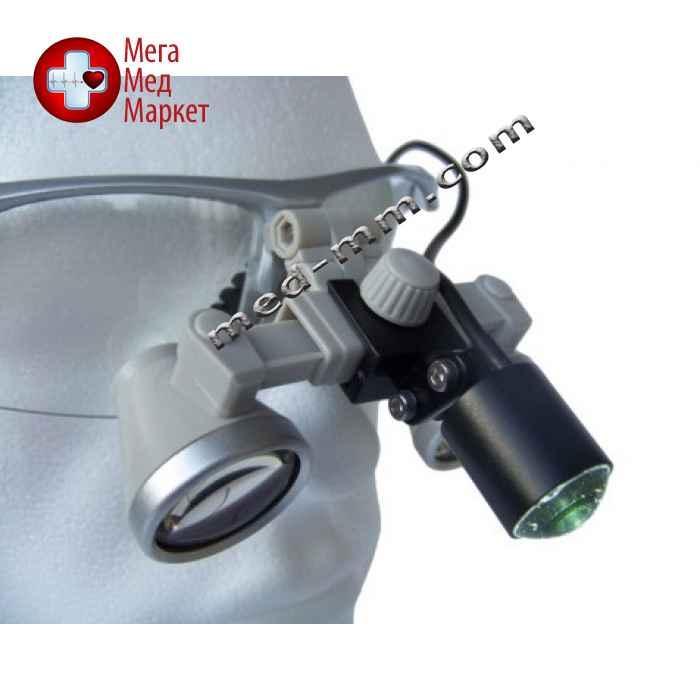Бинокулярный увеличитель ECMG-2,5x-RD ErgonoptiX микро Галилея с осветителем D-Light micro XL и УФ фильтр