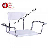 Пластиковое сиденье для ванны со спинкой OSD-2301