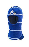 Шапка-шлем для Три звезды мальчиков (зима)