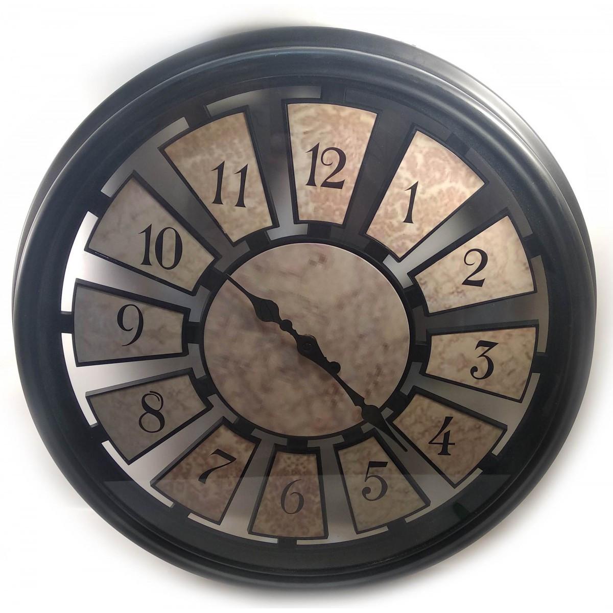 Часы настенные d-43 см h-6 смB 32018B