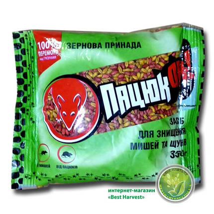 «Пацюкофф» зерновая смесь 350 г (от крыс и мышей), оригинал, фото 2