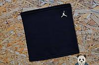 Стильный зимний бафф Jordan, бафф джордан черный, фото 1
