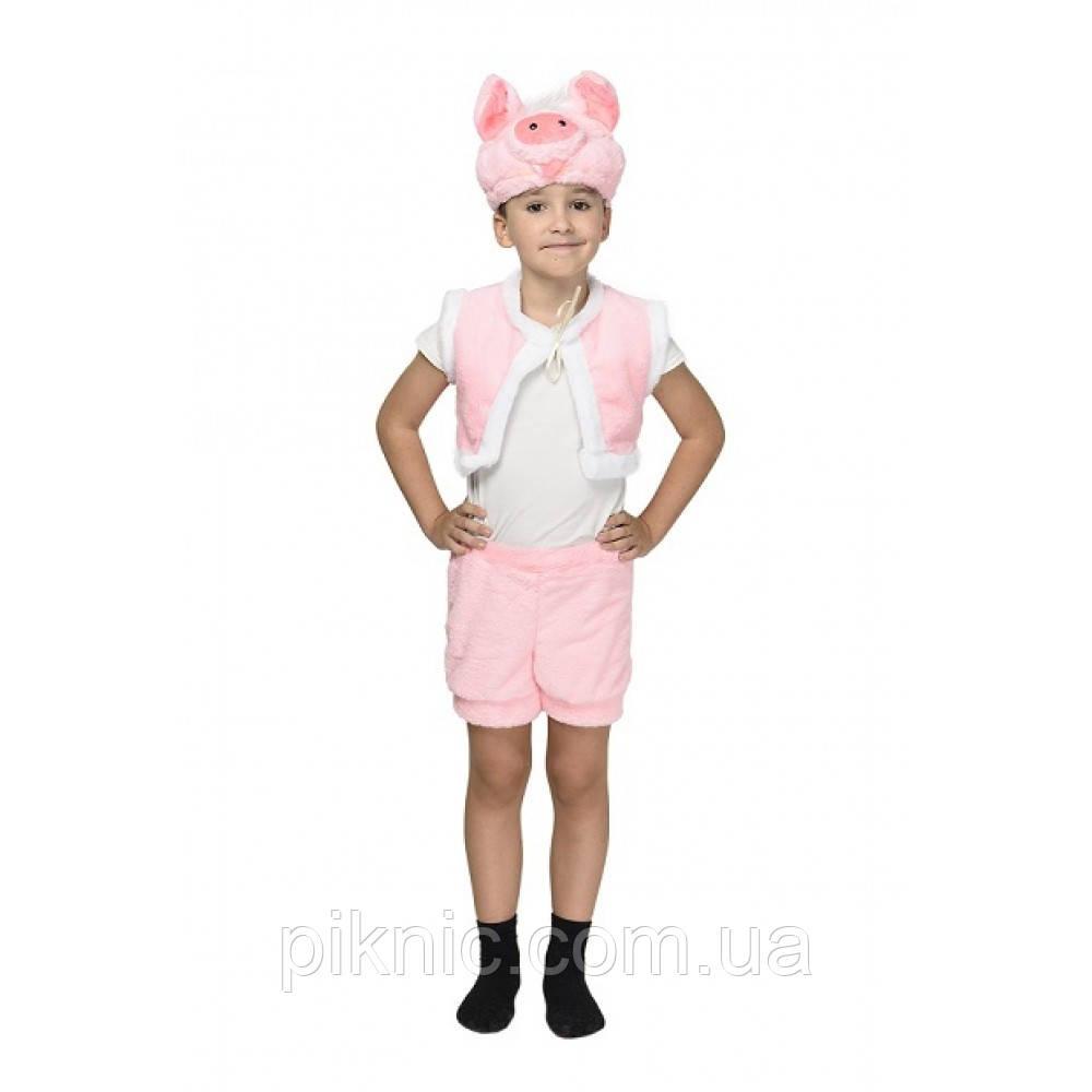 Костюм Поросенок для мальчика 3,4,5,6 лет. Детский новогодний карнавальный костюм 342