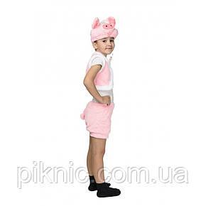 Костюм Поросенок для мальчика 3,4,5,6 лет. Детский новогодний карнавальный костюм 342, фото 2