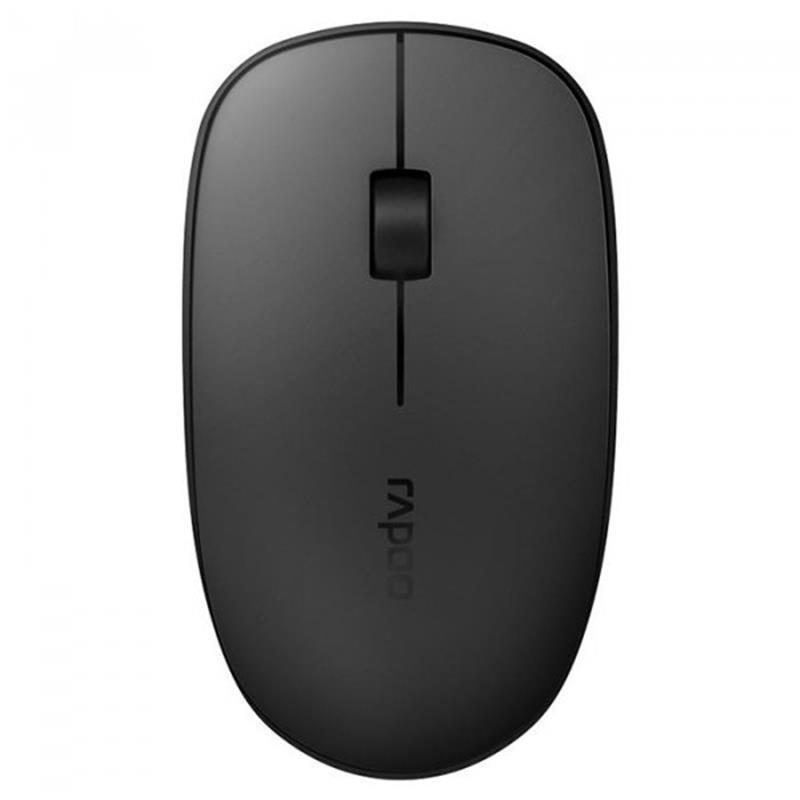 Мышь беспроводная Rapoo M200 Silent Grey USB