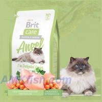 Brit Care Cat Angel Im Delighted Senior корм для пожилых кошек (старше 7 лет) гипоаллергенный, 2кг