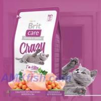 Brit Care Cat Crazy Im Kitten корм для котят с курицей и рисом, 2кг