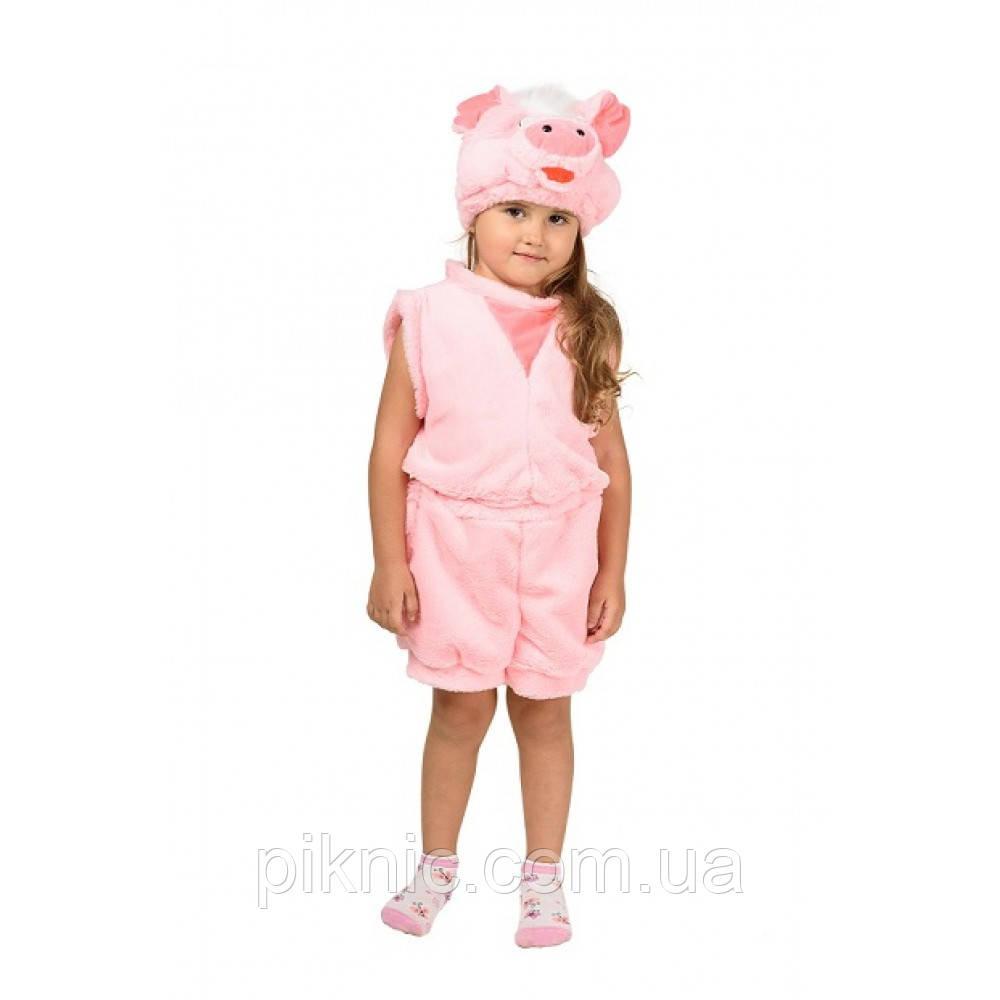 Дитячий карнавальний костюм Порося для дітей 2,3,4 роки  Костюм Хрюша для хлопчиків і дівчаток 342