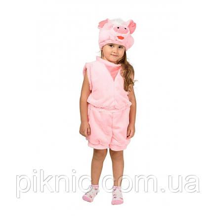 Костюм Поросенок для детей 2,3,4 лет. Детский новогодний карнавальный костюм Хрюша 342, фото 2