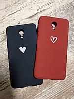 Чехлы для Meizu M5 Note Cиликоновые матовые с антискользящим покрытием