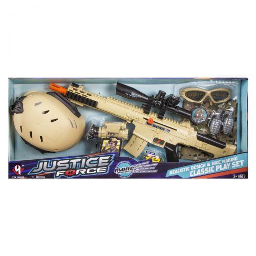 """Военный набор """"Justice Force"""" (бежевый) D019"""
