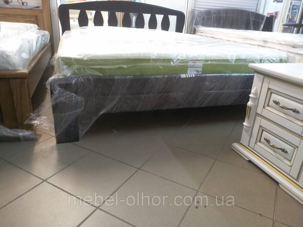 Кровать из дерева Лилия