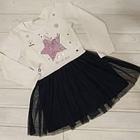✅Платье нарядное для девочки  Платье детское с фатином и паетками Размеры   140 152